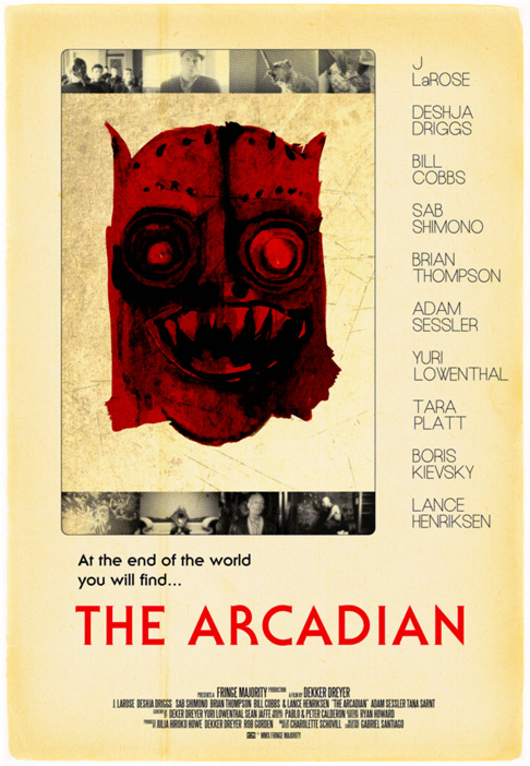 The Arcadian Web Poster Aged