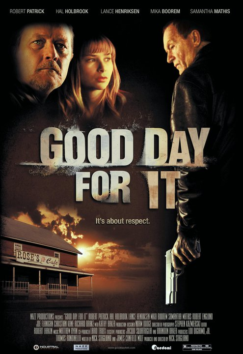 Offizielles US-Poster von Good Day For It