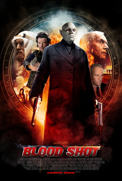 Neues Blood Shot Poster